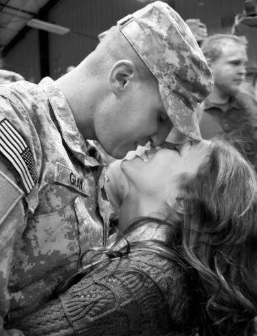What It Means To Be Married To Someone In The Military