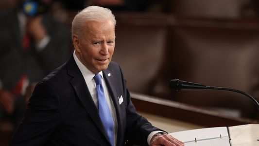 Biden continues to deny that supply shortages are occurring in the US