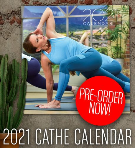 Pre-Order Your 2021 Cathe Fitness Calendar and Get 20% Off Any DVDs & Fitness Products You Also Order!!!