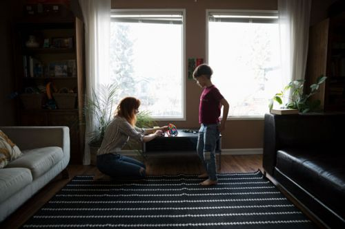 How Wearing Out A Pair Of Jeans Helped My Son With His Speech Delay