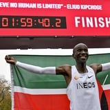 Eliud Kipchoge Becomes the First Person to Run a Marathon in Under 2 Hours