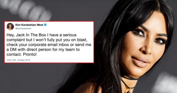 People Are Trying To Guess Why Kim Kardashian's Mad At Jack In The Box And It's Hilarious