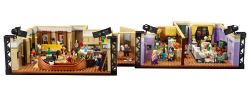 Oh. My. GOD: New 'Friends' LEGO Set Includes Both Apartments