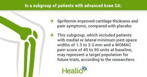 Sprifermin may confer greater benefit to patients at risk for rapid knee OA progression