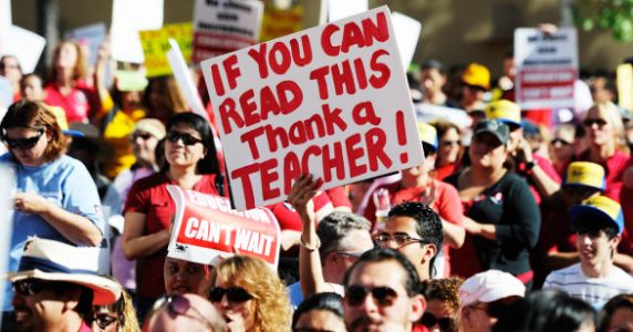 California Teachers Have To Pay For Their Own Subs While On Sick Leave