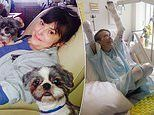 Mother has THREE LIMBS amputated after her own dog bit her and triggered life-threatening sepsis