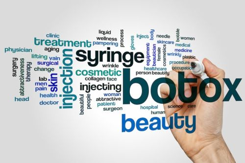 The three most common areas for Botox injections
