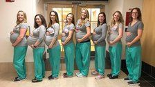 Baby Boom At Maine Hospital Means 9 Labor Unit Nurses Are Pregnant