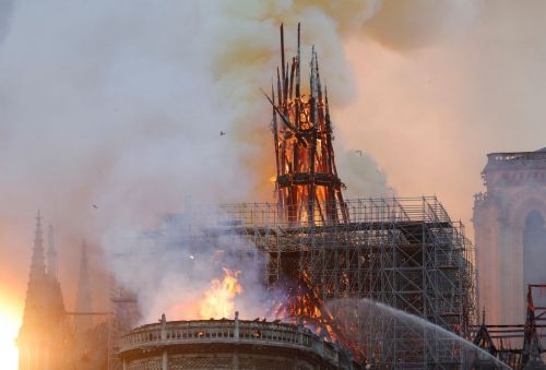 """Left-wing """"establishment media"""" going all-out to refute any suggestion that Notre Dame Cathedral fire could have been intentional"""