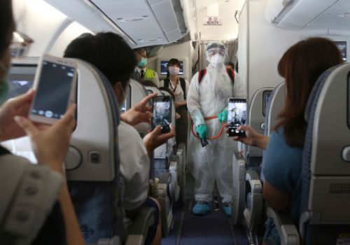 'Fantasy Flight' in Taiwan Offers Air Travel Experience Amid Coronavirus Lockdowns-Without Actually Leaving Airport